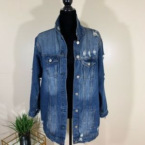 Over Size Jean Jacket